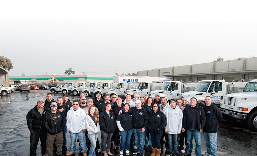 California's Legacy Sanitation Enjoys Substantial Growth, Close-Knit Company Atmosphere
