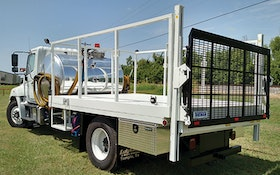 Service Vehicles - Lely Tank & Waste Solutions 800/400 Combo P & D-Portable Restroom Service Truck