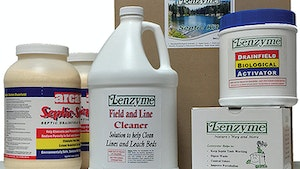 Septic System Bacteria - Lenzyme Trap-Cleer Rejuvenation Septic Kit