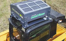 Loftness hydraulic oil cooler