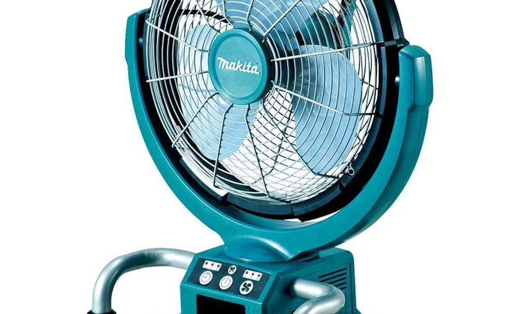 Job Site Fan the Coolest New Cordless Tool