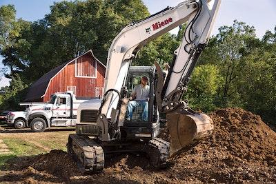 Handy Attachments and Hardworking Excavators Make His Bucket List