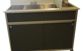 Portable Sinks - MONSAM Enterprises Model PSE-2004R