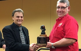 NAWT's Tom Frank Wins Macchio Award at WWETT Show