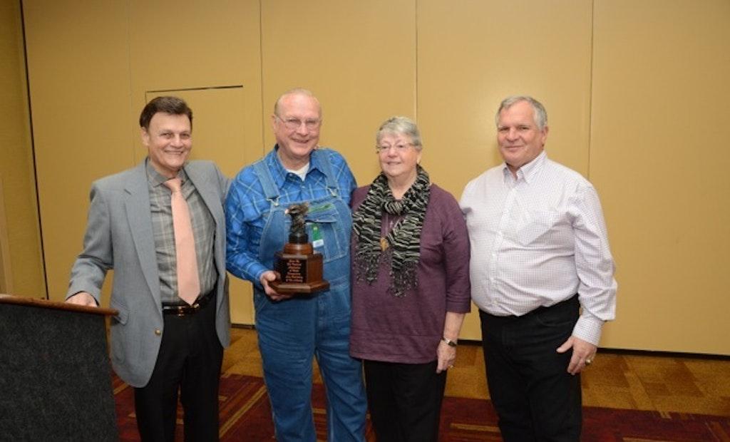 Schlomka wins pumping industry's highest honor
