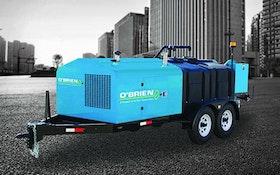O'Brien trailer jetter with sediment pump
