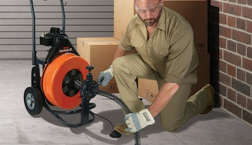 Plumbing Pro Shows Why Drain Machine Can Take a Beating