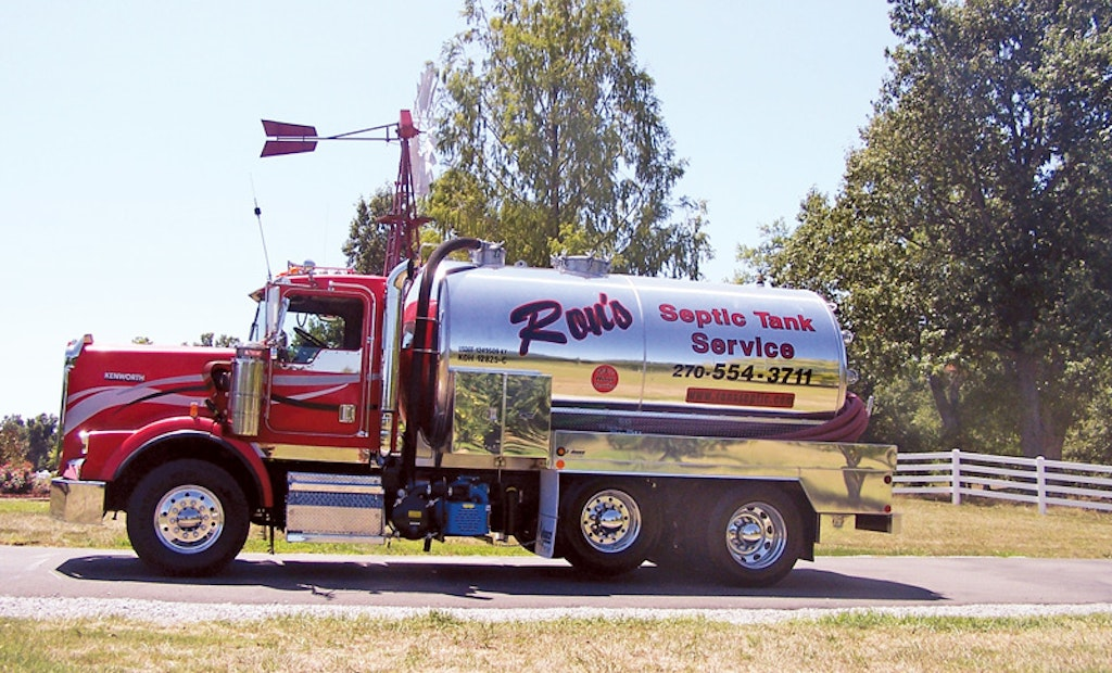 Ron S Septic Tank And Drain Service Pumper
