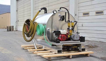 Robinson slide-in vacuum tank