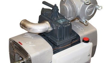 Jurop RV Series Rotary Vane Vacuum Pump Offers Efficiency, Dual-Fan Cooling Technology