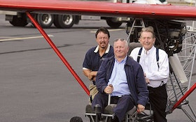 Devoted Pumper Builds Plane, Employs Same Sense of Determination That Exemplifies Septic Business
