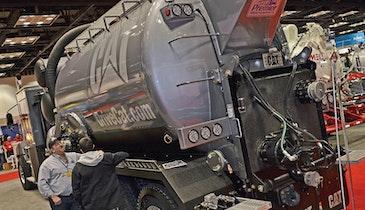 Premier CV Series Hydroexcavator Offloads Debris Without Raising Tank