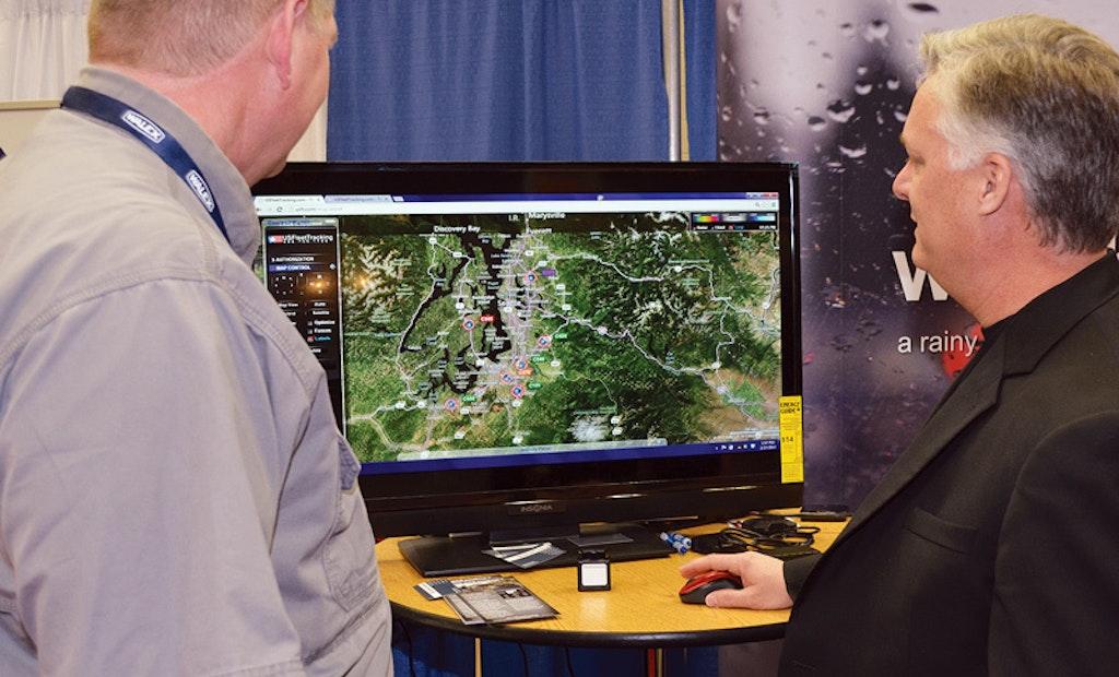 Pumpers Get Up-Close Look at Latest Fleet Management Technology
