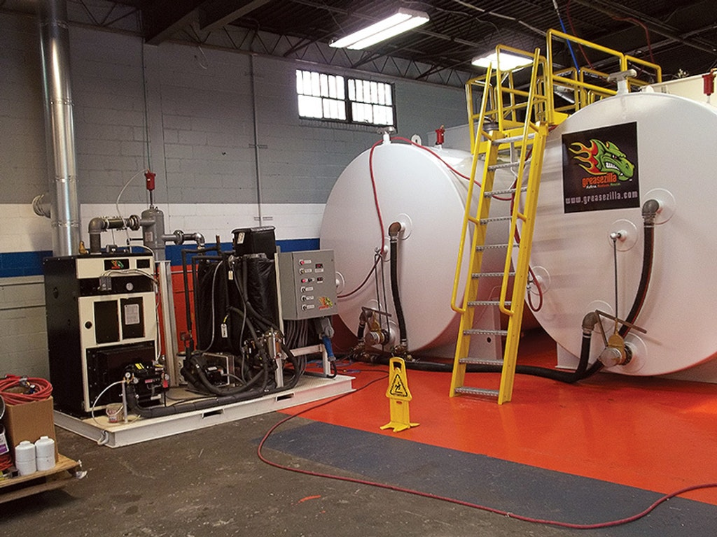 Greasezilla Grease-Separating Unit Increases Efficiency, Recycles Grease as Fuel Source
