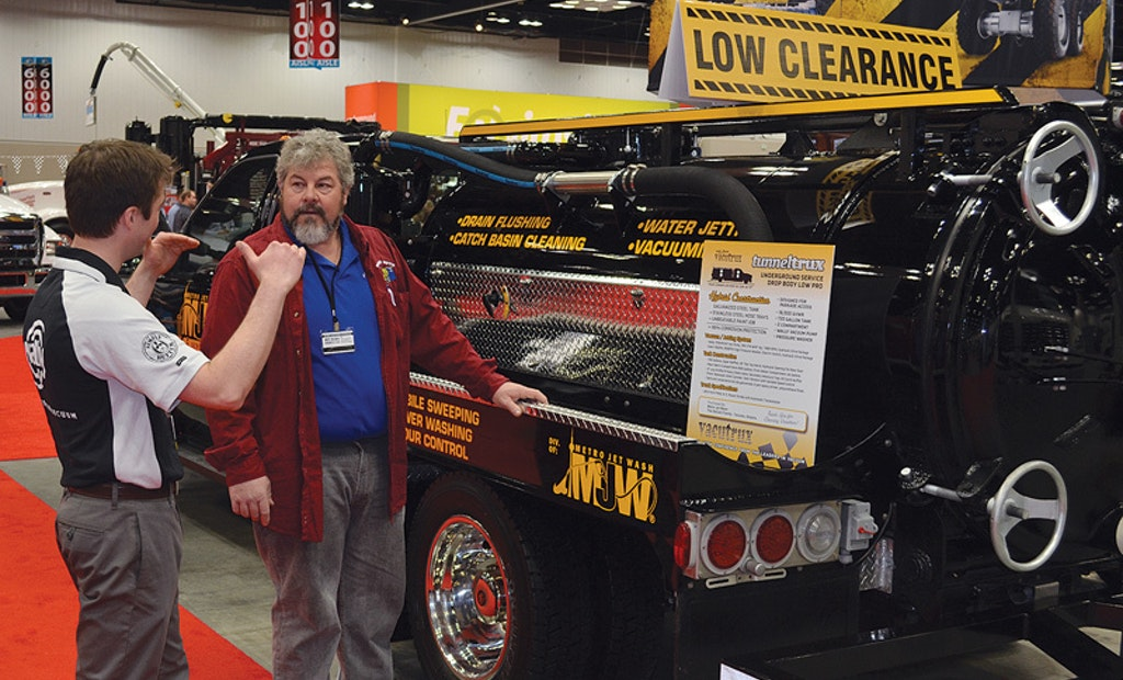 Low-Profile Vacuum/Jetting Truck Debuted at the 2013 Pumper & Cleaner Environmental Expo