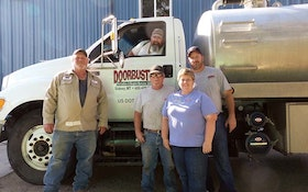 And the Winner Is … Doorbust'n Portables & Septic Service