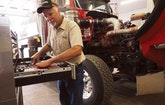 Career Swap Puts Partners Behind the Wheel of a Pumping Truck