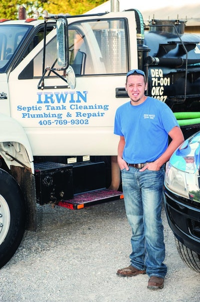 Oklahoma's Irwin Septic Promotes Routine Septic Maintenance