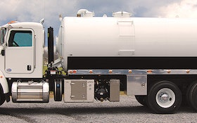 Vacuum Trucks/Tanks/Trailers - Pik Rite dual-compartment 3,600-gallon vacuum tank