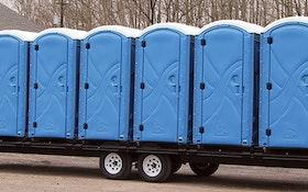 Transport Trailers - Pik Rite portable restroom trailer