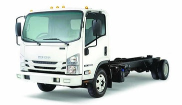 Isuzu 2016 NPR Diesel Cab-Forward Restroom Truck Rated at 13,000 GVWR