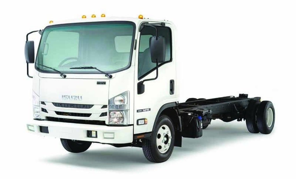 Isuzu 2016 NPR Diesel Cab-Forward Restroom Truck Rated at 13,000 GVWR