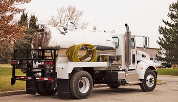 For Diversifying Business Owners: Vacuum Truck For Septic Service & Portable Sanitation Work