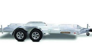 All-Aluminum Flatbed Utility Trailers Available In Single And Tandem Axle