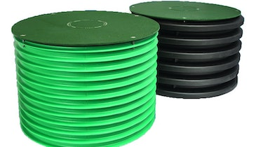 Damage-Resistant Orenco Systems Riser Lids Have 20,000-Pound Breaking Strength