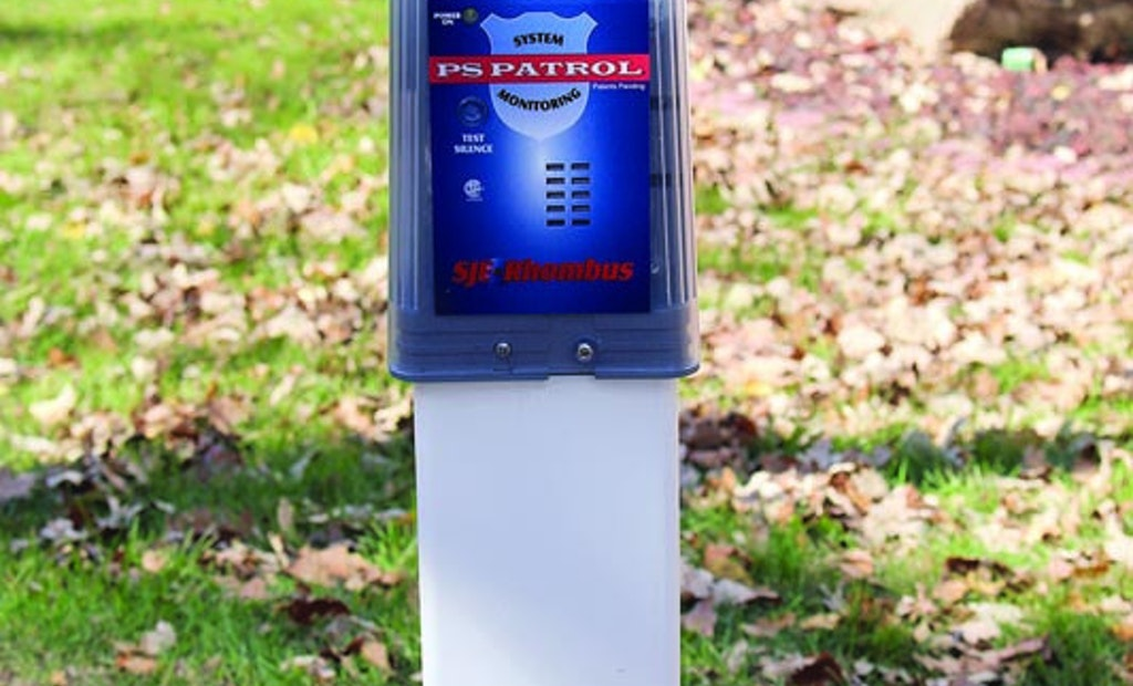 Pedestal-Style Pump Alarm System Seals Components Against Moisture