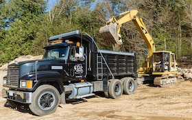 Excavator and Dump Truck Are Game-Changers for JCL Septic Service
