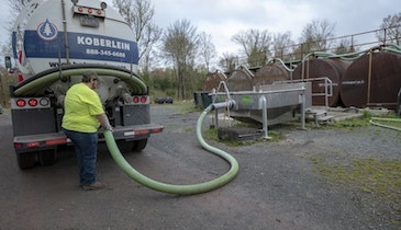 New Separator Helps Pennsylvania Pumper Spread Septage Efficiently