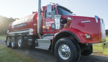 Big Truck From Transway Systems Mixes Beauty and Brawn