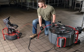 RIDGID FlexShaft drain cleaning machine