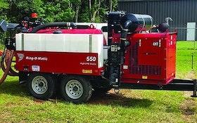 Excavation Equipment - Ring-O-Matic 550 HiCFM VacEx Hydroexcavator