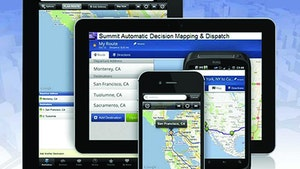 Routing Software - Automatic mapping and dispatch program