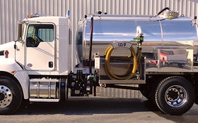 Service Vehicles - Robinson Vacuum Tanks service truck
