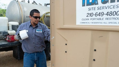 Turn Your Drivers Into a Portable Restroom Sales Force