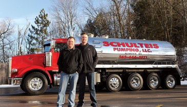 Seeing Red: Schulteis Pumping Takes Home Classy Truck of the Year Honors