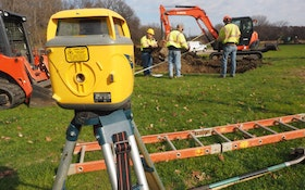 Using a Benchmark to Establish Septic System Elevation