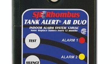New Tank Alert AB DUO alarm monitors two levels