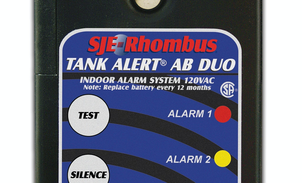 New Tank Alert AB DUO alarm monitors two levels