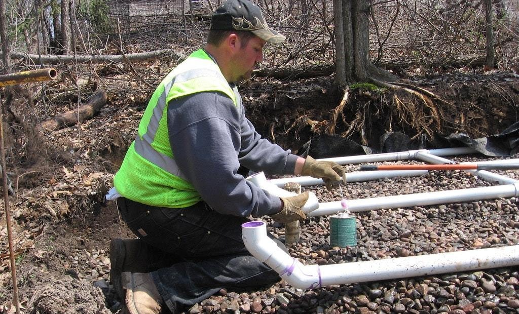 Connecting PVC Pipe and Fittings with Solvent-Welding