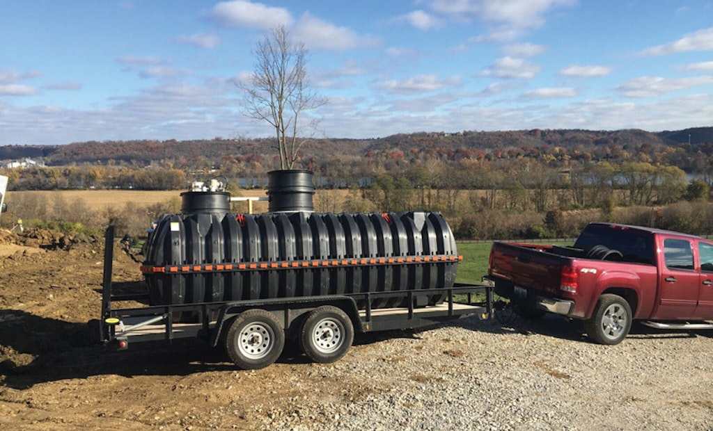 NextGen Septic offers clean water, small footprint and a retrofit treatment solution