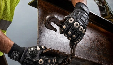 Brass Knuckle Glove Features Complex Construction for Wide-Ranging Protection