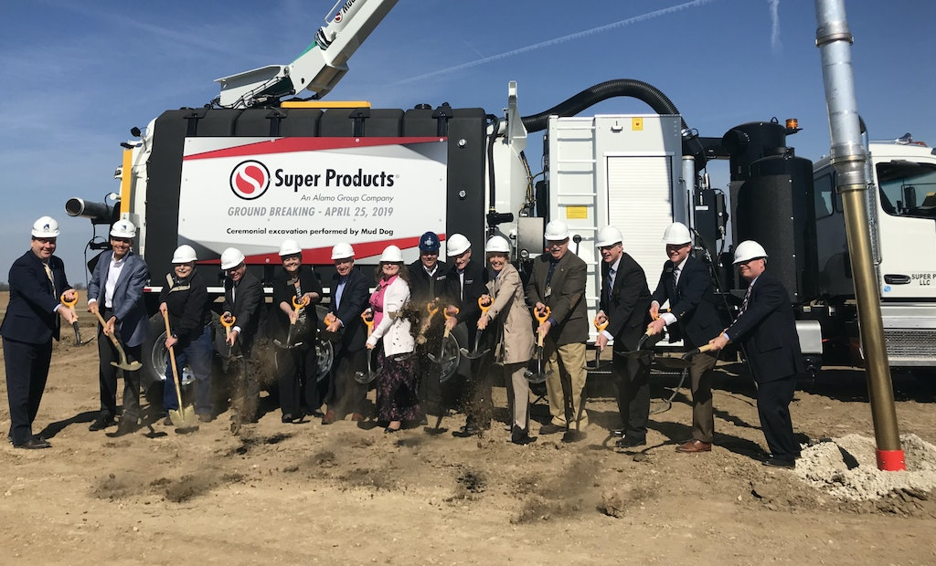 I Make America Joins Super Products for Expanded Facility Groundbreaking