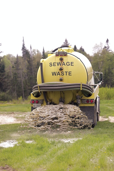 Septic Service and Land Application Are a Package Deal