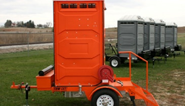 Portable Restroom Trailer Delivers Convenience, Practicality