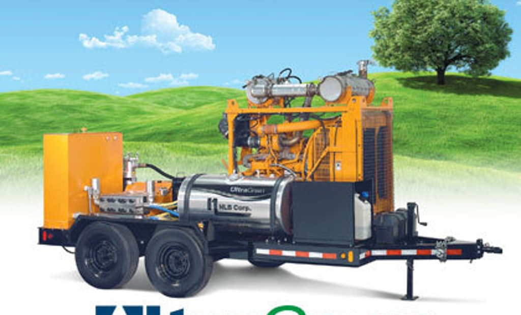 UltraGreen water jet units reduce emissions and operating costs