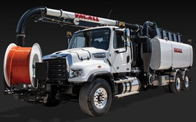 Jet/Vac Combo Units - High-dump combination sewer cleaner